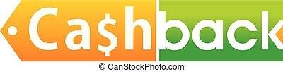 Cash Back Logo Design Template Vector