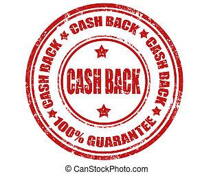 Cash back-stamp