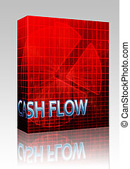 Cash flow budgeting box package - Software package box...