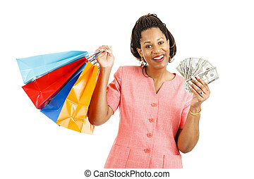 Cash for Shopping Spree