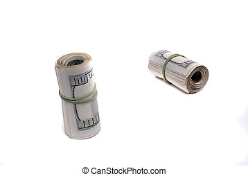 Cash Money American Dollars Representing Wealth riches and Investments