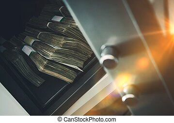 Cash Money Safe Deposit