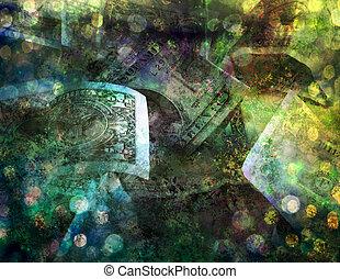 Cash Painting