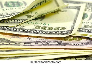 Cash - Photo of Hundreds and Fifties