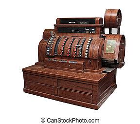 cash register 20 century, from the beginning.