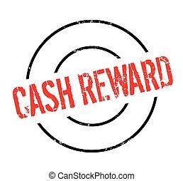 Cash Reward rubber stamp