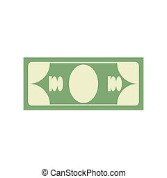 Cash sign. Dollar symbol. Money emblem. Financial Icons
