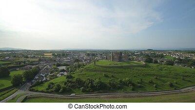 cashel, Luftaufnahmen, grafschaft, tipperary, irland,...