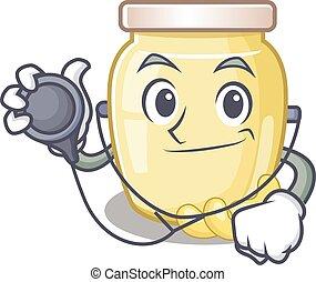 Cashew Butter 1 - A mascot picture of cashew butter cartoon ...