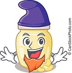 Cashew Butter 24 - cartoon mascot of funny cashew butter ...