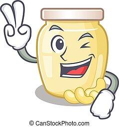 Cashew Butter 27 - mascot of funny cashew butter cartoon ...
