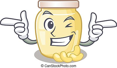 Cashew Butter 28 - Cute mascot cartoon design of cashew ...