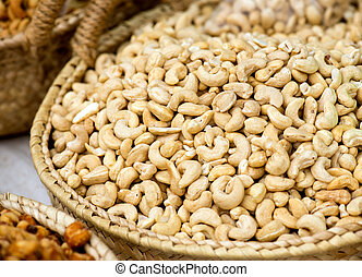 Cashew Nuts On The Market