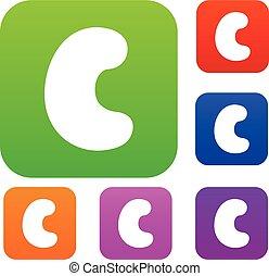 Cashew set color collection