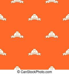 casier, modèle, vecteur, bureau, orange