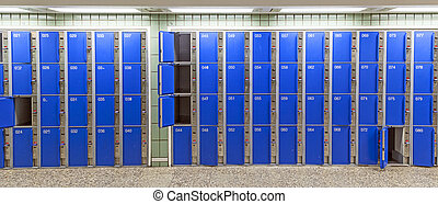 casier, station