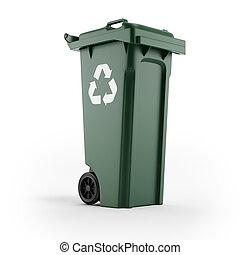 casier, symbole, recyclage
