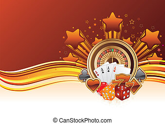 casino background - casino design elements, abstract ...