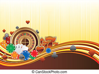 casino background - casino design elements,abstract...