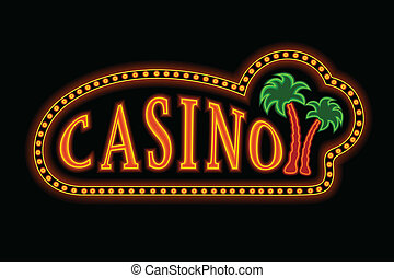 Casino Background - illustration of casino background with...
