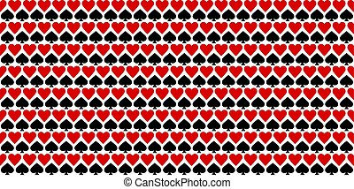 Casino Background Seamless Abstract Pattern Vector Illustration