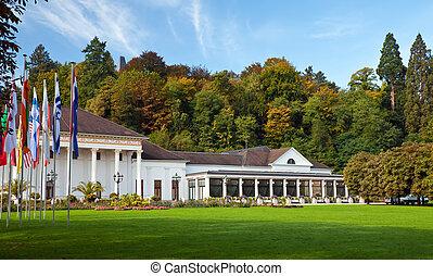 Casino Baden-Baden. Europe, Germany.