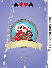 casino badge