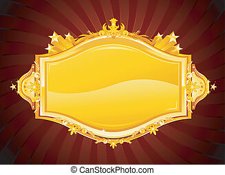 Casino banner - Golden casino banner