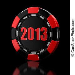 casino chip 2013