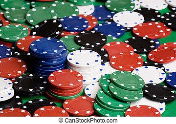 Casino Chip Background