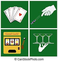 casino, conjunto