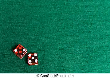casino, dobbelsteen