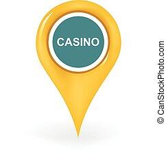 casino, emplacement