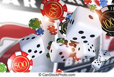 Casino Gambling Illustration
