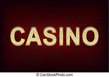 casino, glanzend