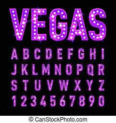 casino, lettres
