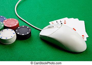 casino, ligne