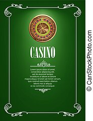 Banner with Casino Logo Badges.