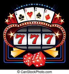 casino, machine