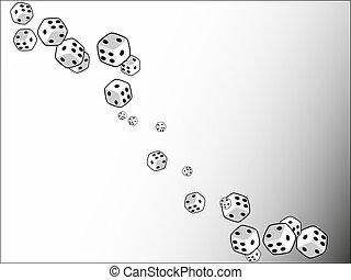 casino, mostradores