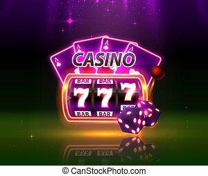 Casino neon cover.