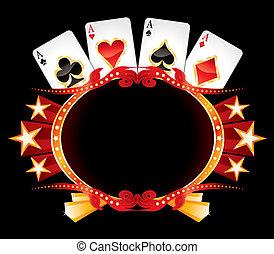 casino, neon