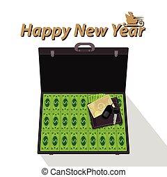 casino New Year's pokergame money