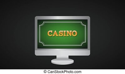 Casino online game HD animation - Casino online game from...
