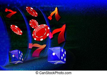 casino, plano de fondo