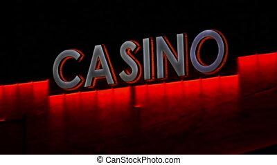 Casino Sign LED Lights Static