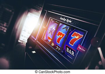 Casino Slot Machine 3D