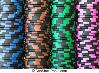 casino spaanders, achtergrond