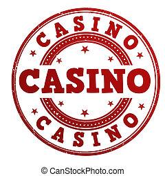 Casino stamp