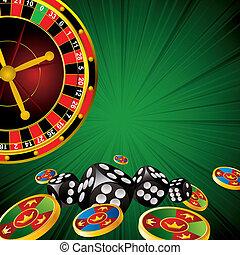 casino, symbolen